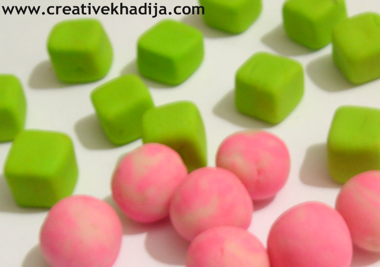 clay beads making