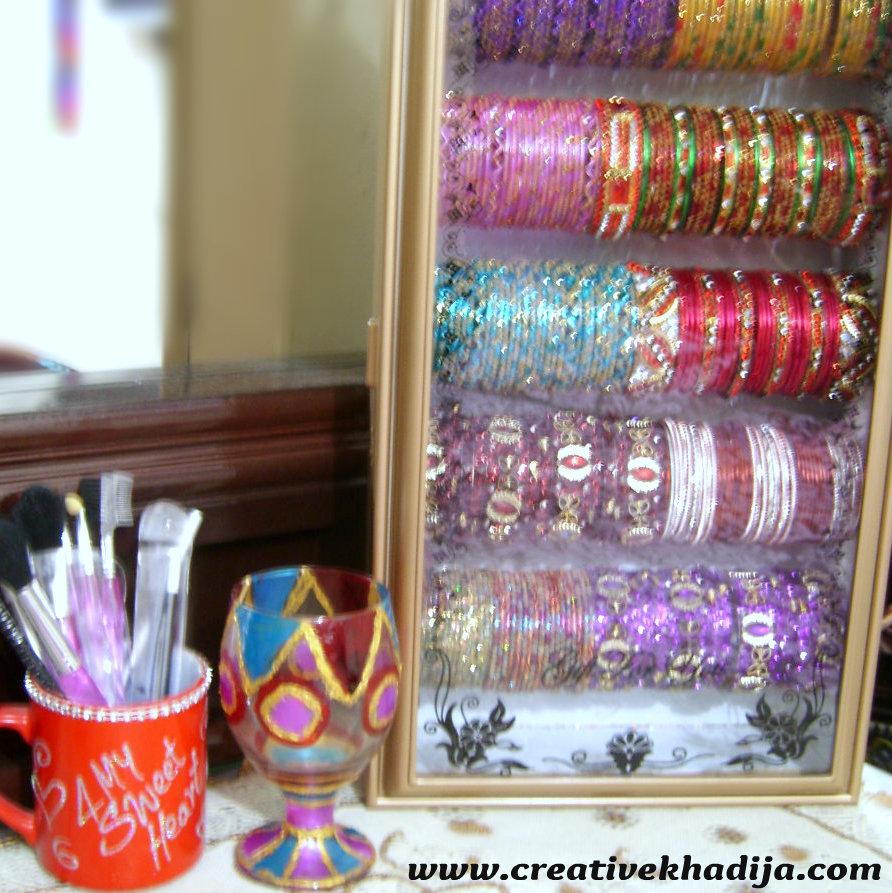 glass bangles stand Creative Khadija Blog - Arts, Crafts & Tutorials