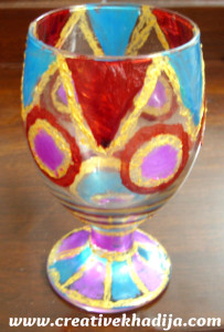 waterglass painting tutorial
