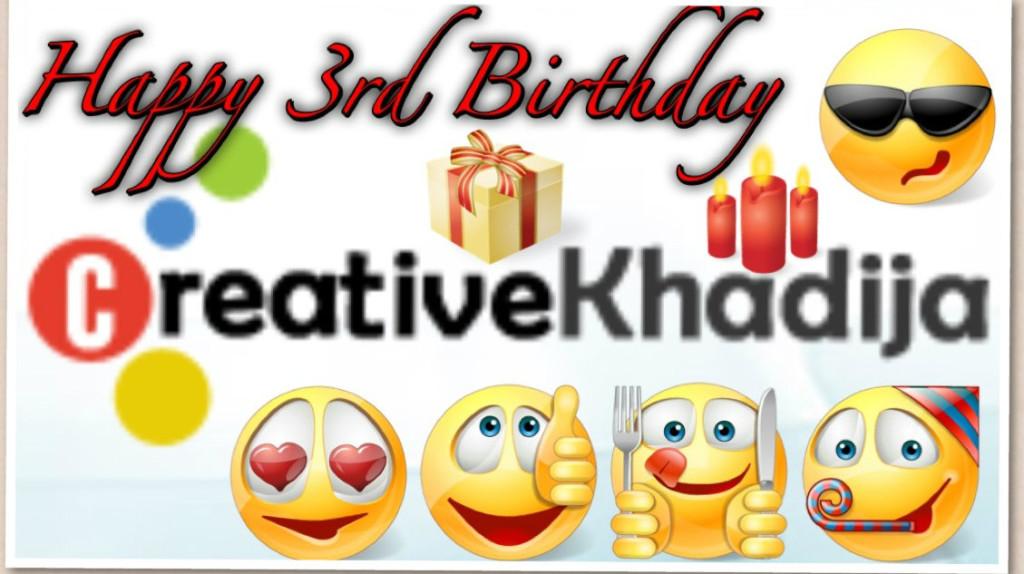 creative khadija blogversary