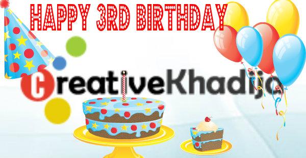 creativekhadija blogversary