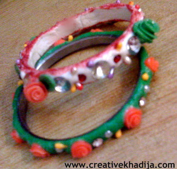 Clay Bangles Making