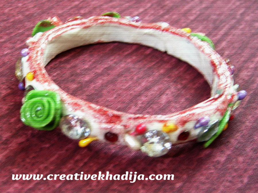 clay embellishment bangles
