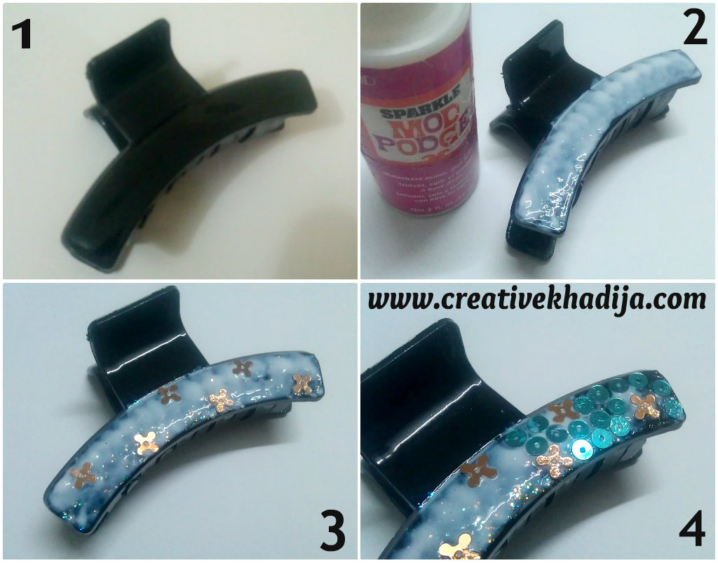 hairclip refashion diy