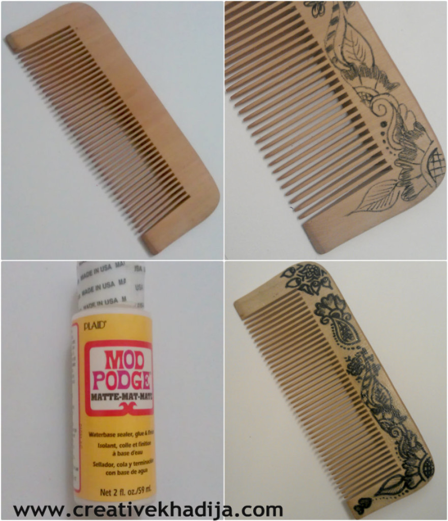 design a hair comb