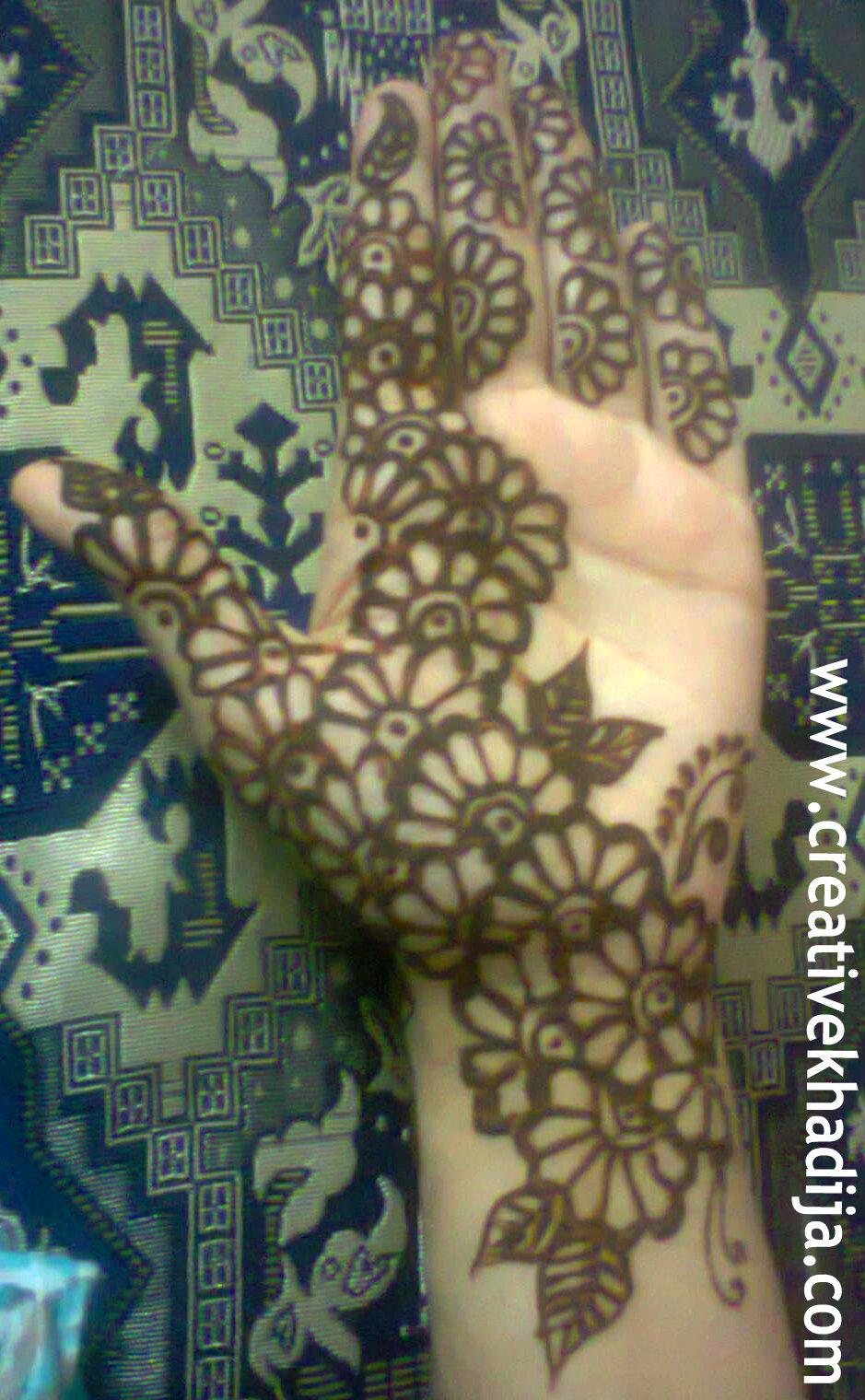 henna mehndi designs for girls