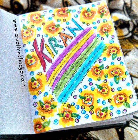 diary planner designing