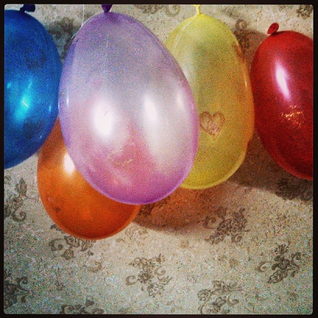kk cake baloons