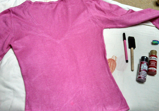 shirt refashion diy