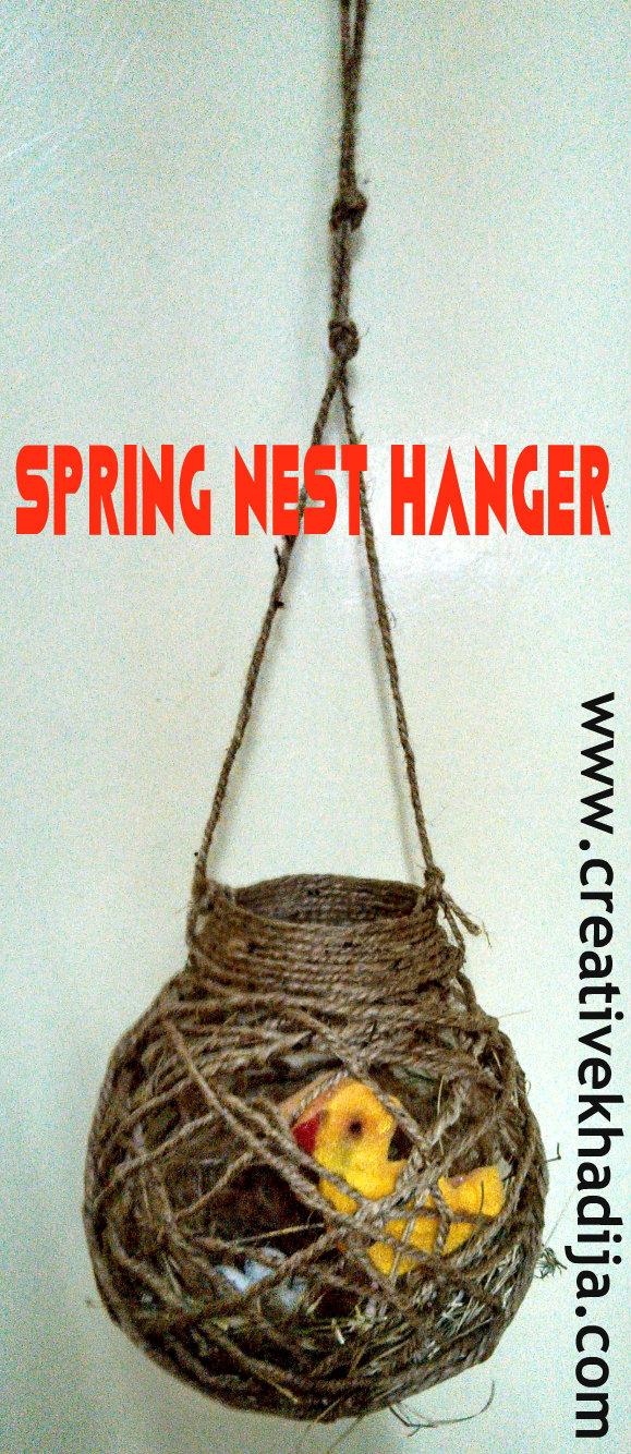 Spring Nest hanger