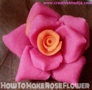 how to make rose flowers