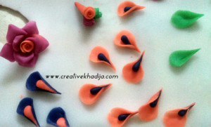 make rose flowers tutorial