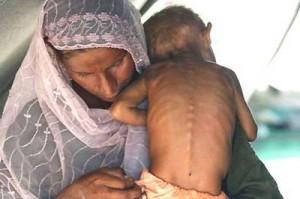 thar famine kids