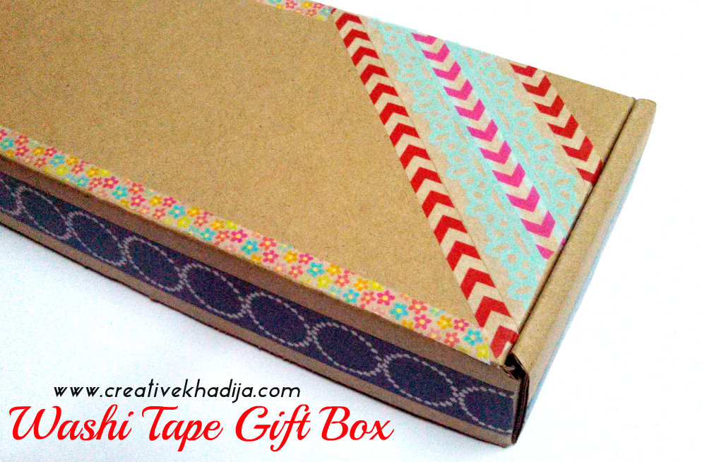 washi tape design gift pack idea