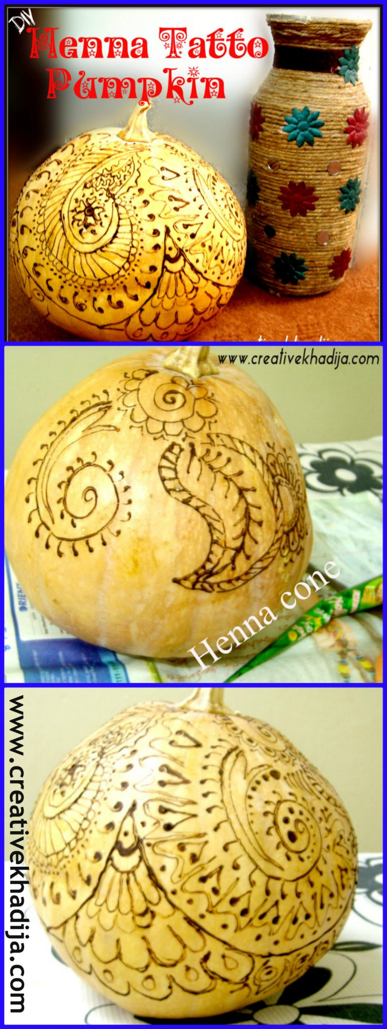 Halloween, Henna, Pumpkin, Henna Tattoo, Fall, tattoos,