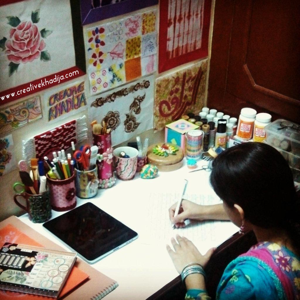 creative khadija kiran craftroom