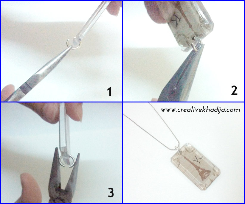 how to add jump ring in a pendant
