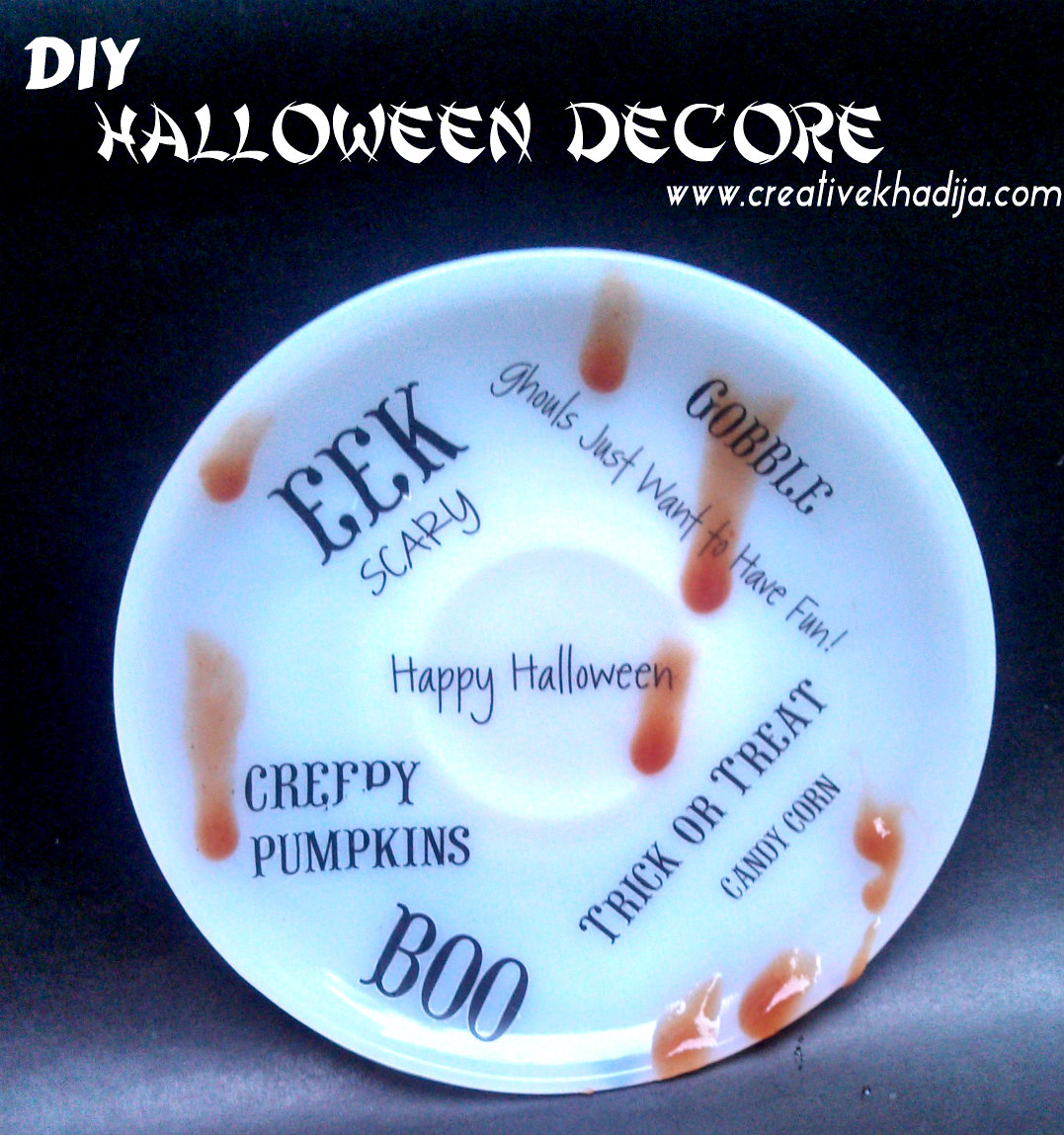 Last Minute Halloween Decor DIY Ideas