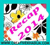 Creative Khadija blog recap 2014