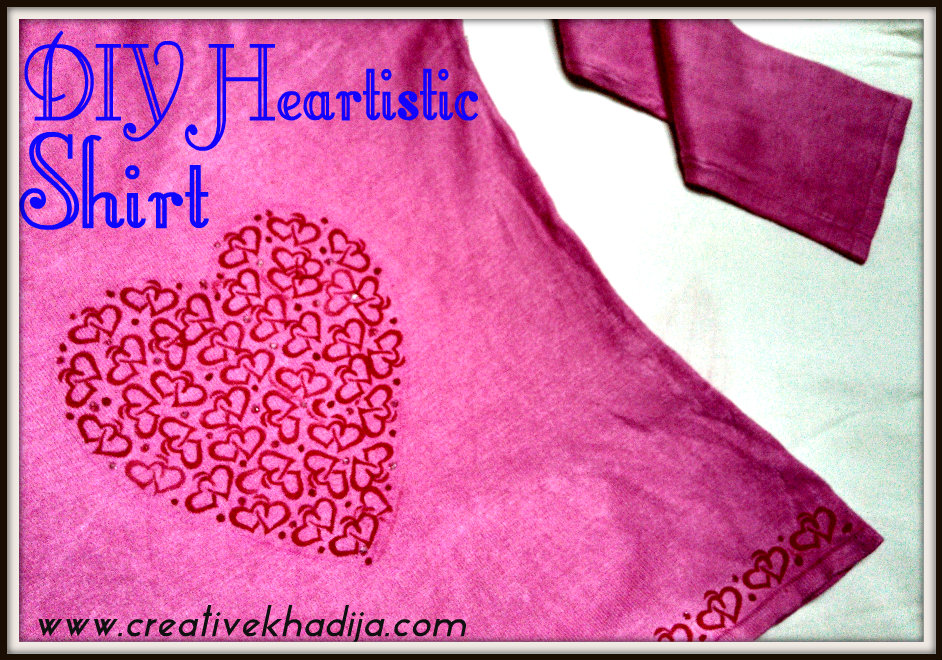Valentine's Day Shirt Refashion Ideas Easy valentine crafts ideas for Girls to Try this year