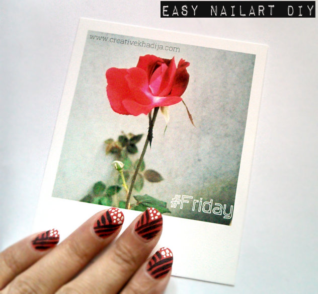 Easy Nail Art DIY
