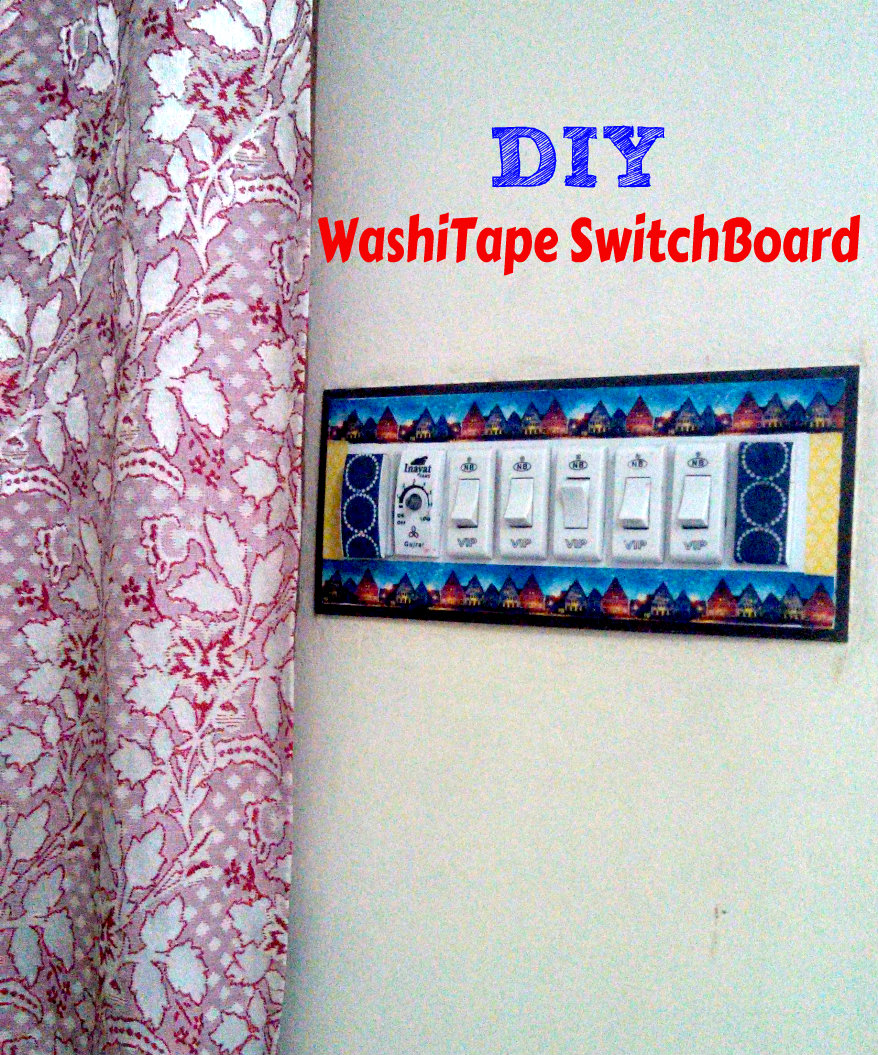 diy washitape switchboard