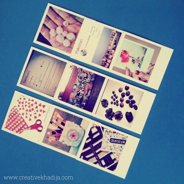 polaroid prints organizing ideas