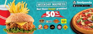 foodpanda food weekly madness affiliates, sponsors,