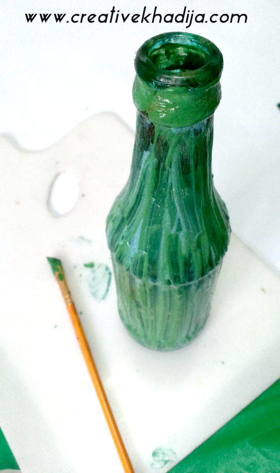 craft fail-glasspaint bottles