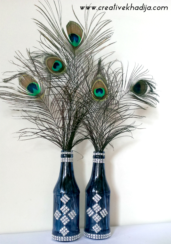peacock feathers decoration ideas
