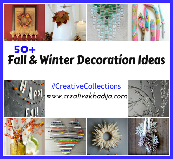 Fall and Winter Decoration ideas-CreativeCollections