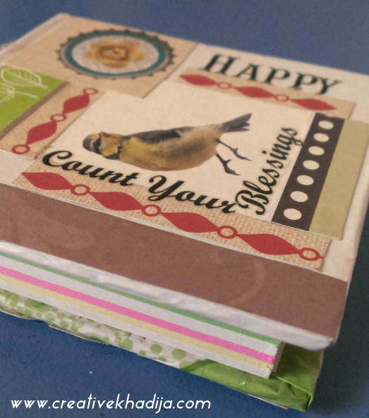 Vintage Design Diary Cover DIY