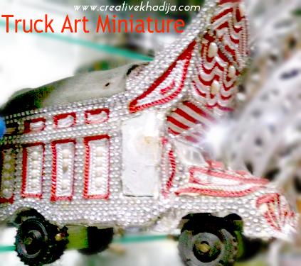 Miniature Truck Art Handicrafts Pakistan