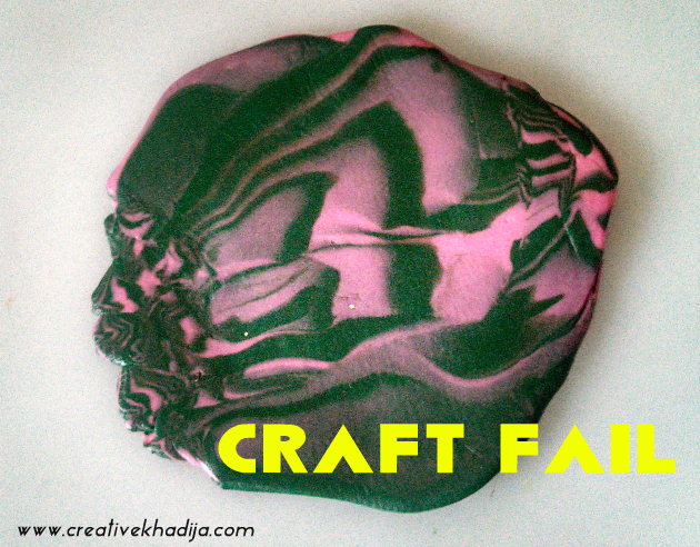 A Craft Fail With Polymer Clay Art