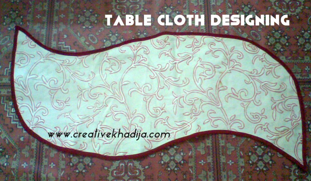 Designed Table Cloth