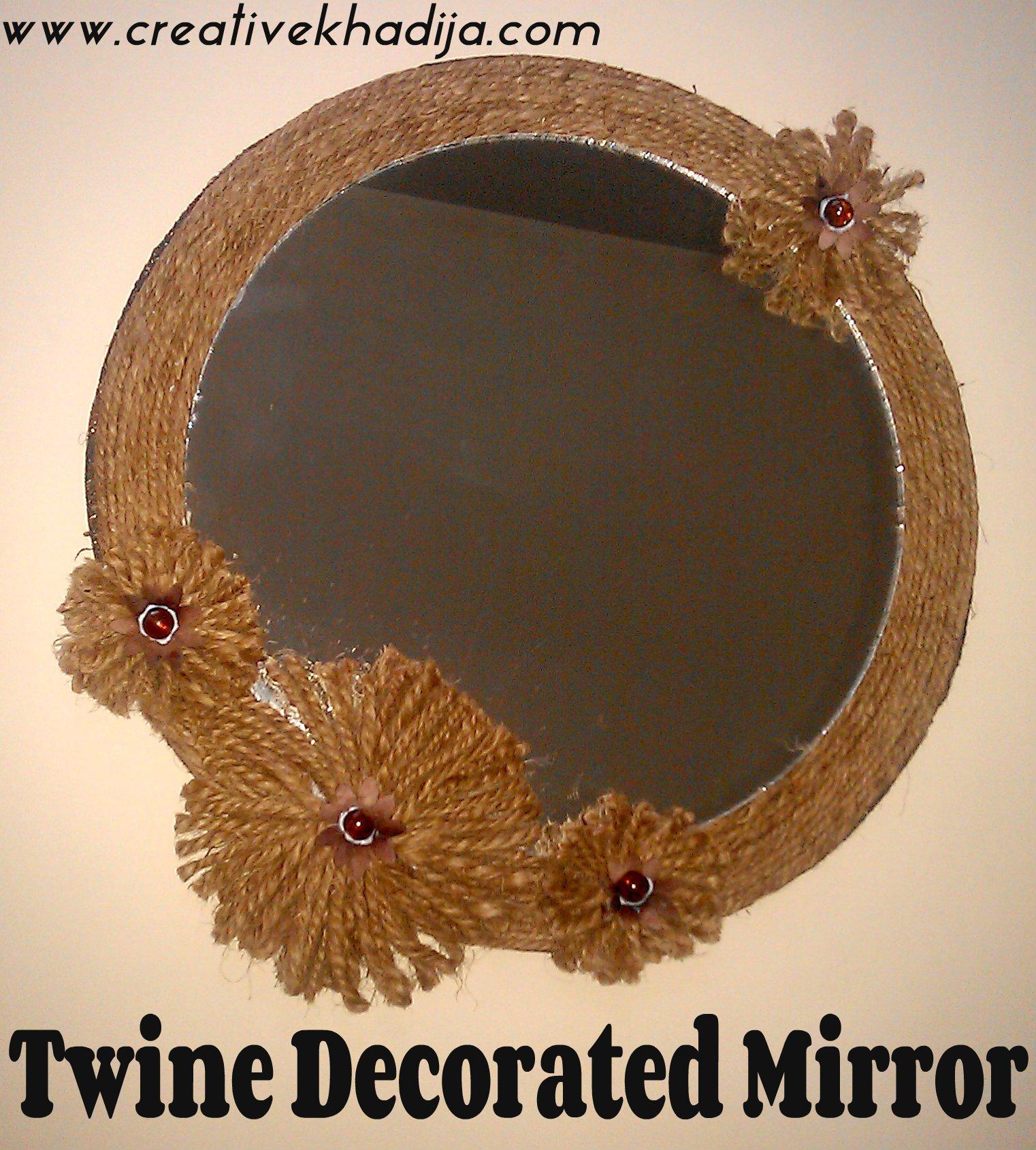 Twine Round Mirror