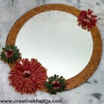 Twine Decorated Mirror WallArt