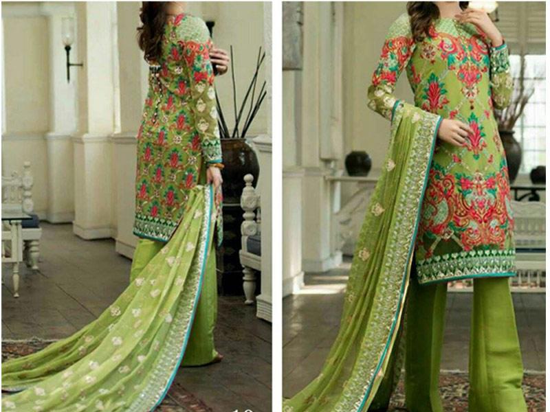 p6950-green-chiffon-embroidered-dress
