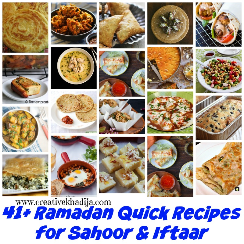 best ramadan recipes for sahoor and iftaar 2016