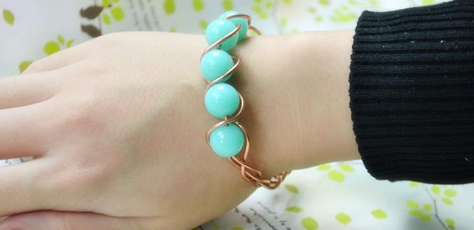 DIY-acrylic-beads-bracelet