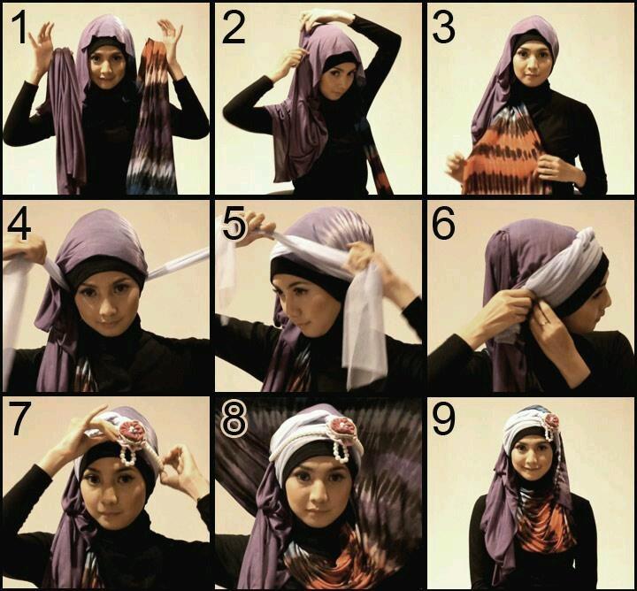 arabian hijab style