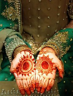 basic bridal henna