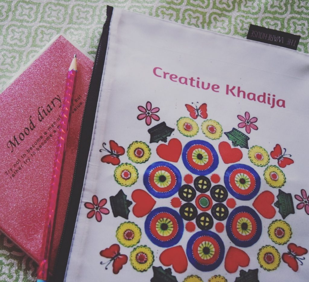 creative khadija customized logo printed pouch