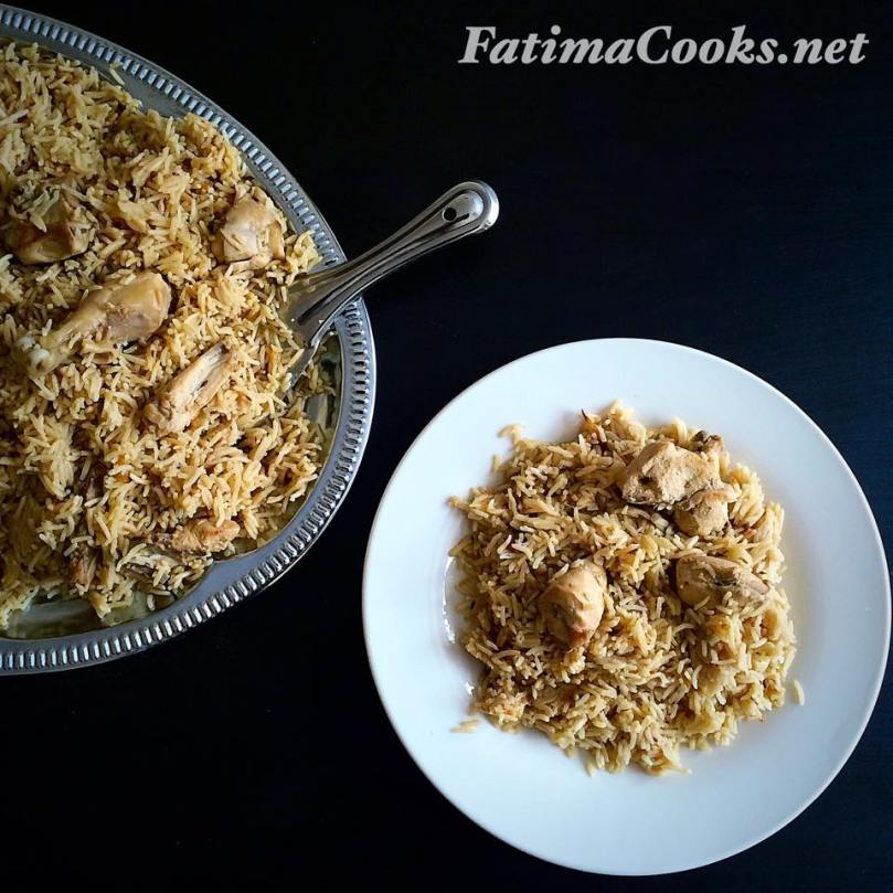 eid recipe chicken pulao