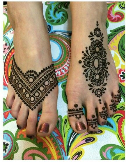 feet mehndi design for eid