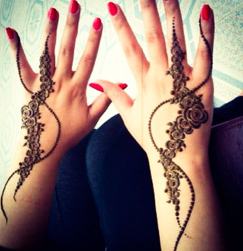 mehndi design for hands 1