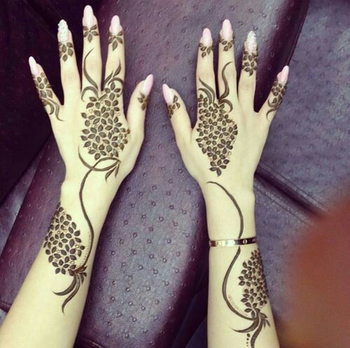 mehndi design for hands eid 2016