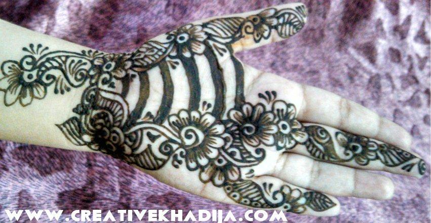 Flower Wali Mehndi : Beautiful designs of eid and weddings mehndi henna for girls