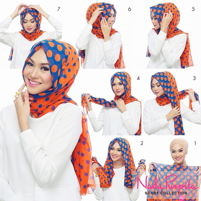 modren hijab tutorial