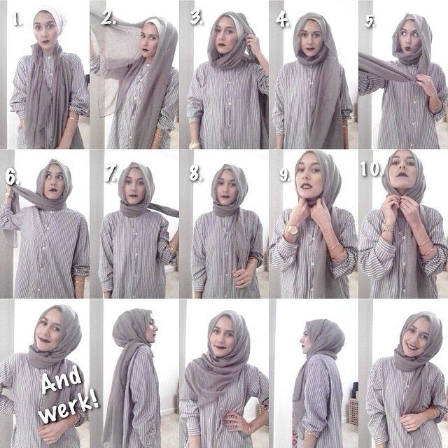 modren stylish hijab
